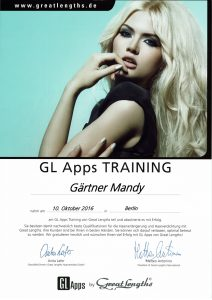 Diplom Great Lengths Apps Mandy