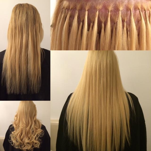 Haarverlängerungen Bondings