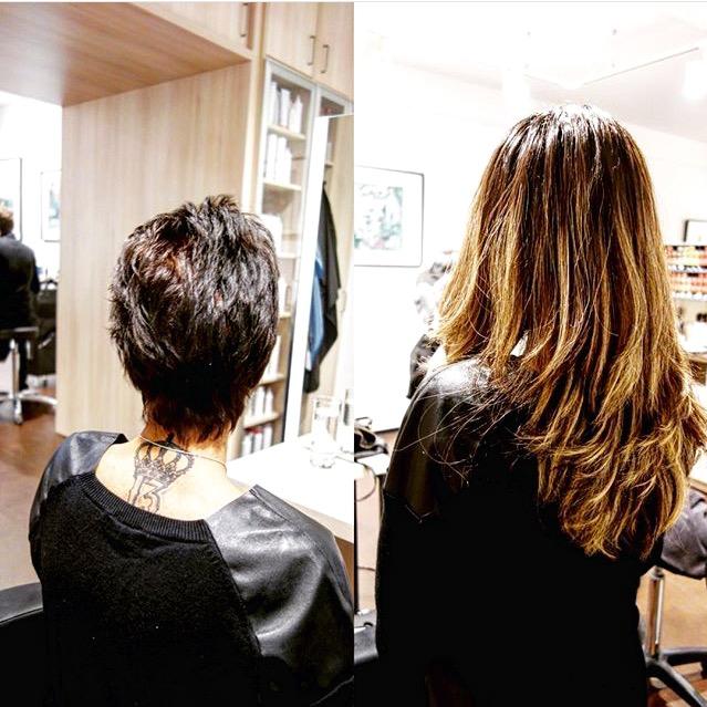 Haarverlängerung vorher-nachherHaarverlängerung vorher-nachherHaarverlängerung vorher-nachher
